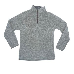 TRUE GRIT XS pebble softest tip pullover SWEATER